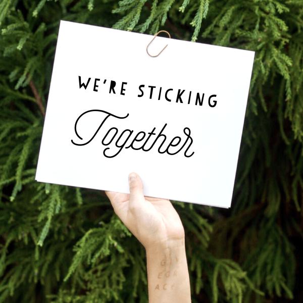 Sticking Together – Webinar